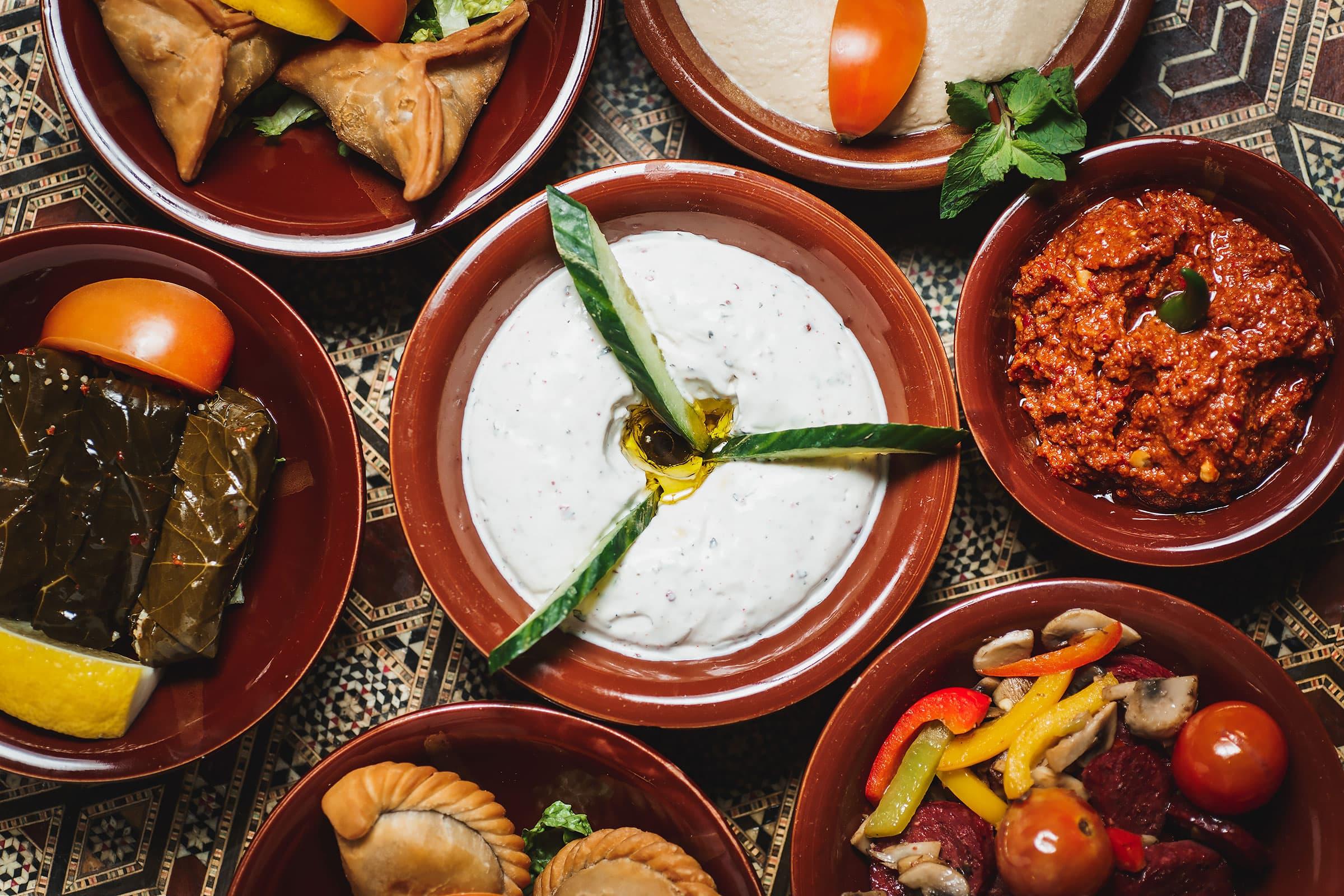 libanesisk mat söder