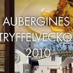 Tryffelveckor på Aubergine