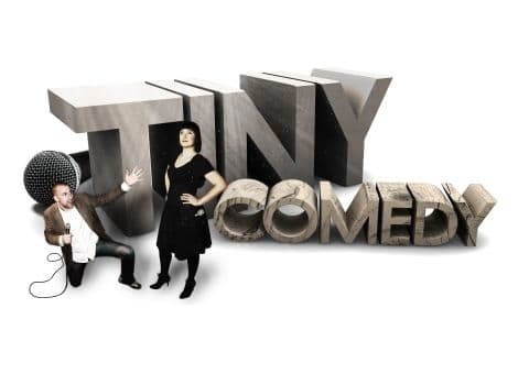 Stand-up med Tiny Comedy