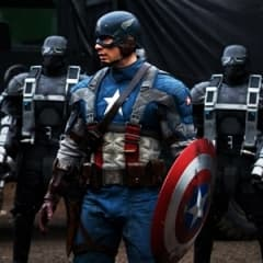 Patriotism på hög nivå i Captain America