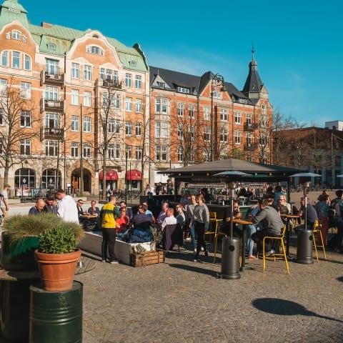 Guiden till Malmös bästa uteserveringar