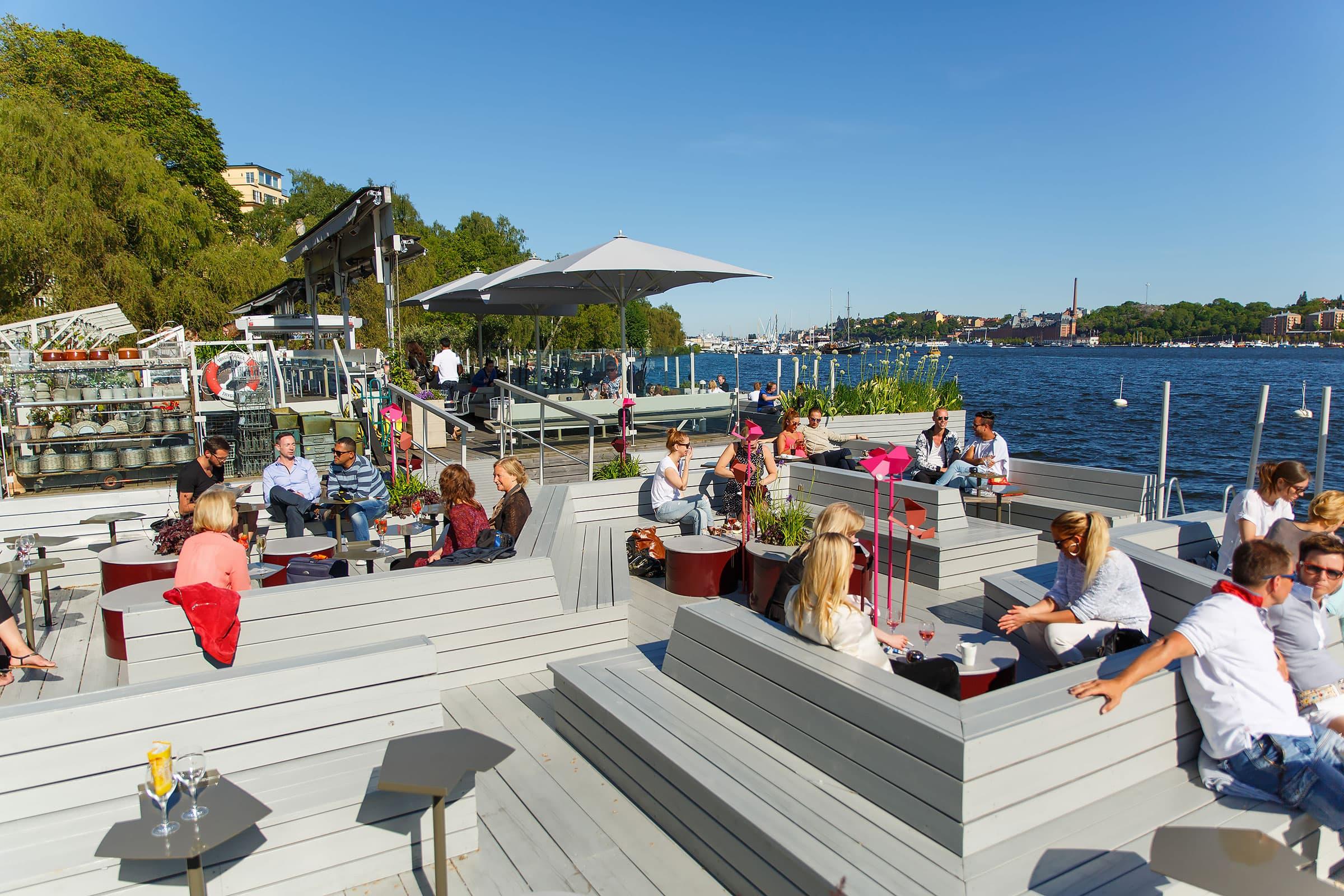 Stora guiden till Stockholms bästa uteserveringar