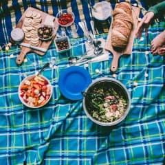Picknick-fest i Stockholm
