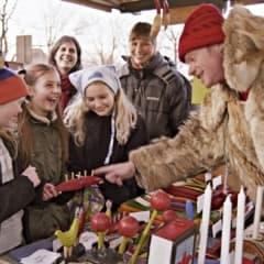 Fullspäckat schema på Skansen i jultider