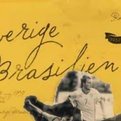 Sverige - Brasilien på Råsunda