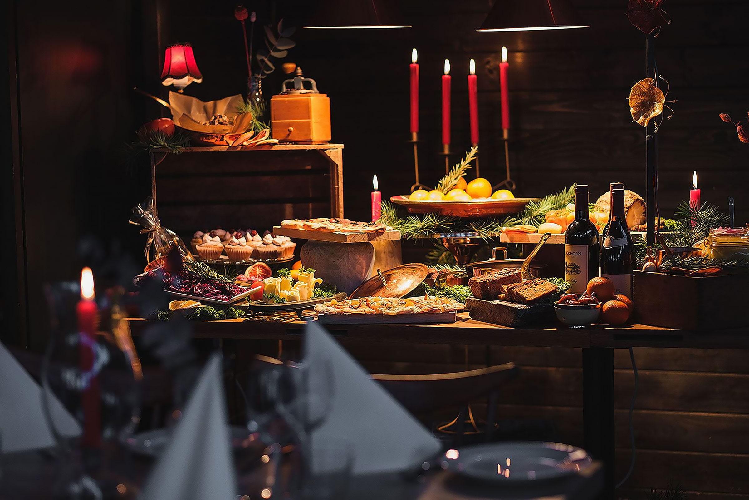 Julbord på Jungfrusund