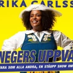 Marika Carlsson är tillbaka med föreställningen En negers uppväxt