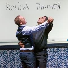 Özz Nûjen och Måns Möller i ny föreställning