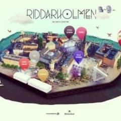 Dans Dakar intar Riddarholmen