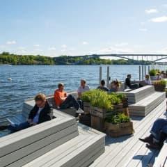 Bästa uteserveringarna på Kungsholmen