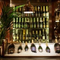 Stockholm's sparkling champagne bars