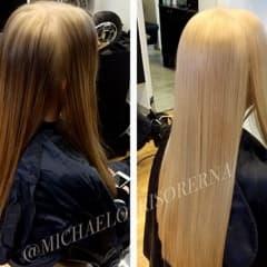 Snälla blekningar senaste hårtrenden