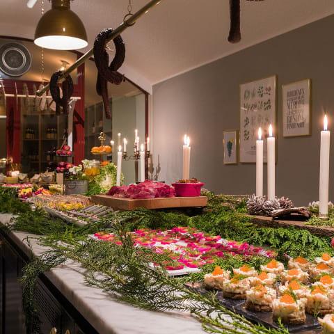 Julbord med spännande smaker i Stockholm