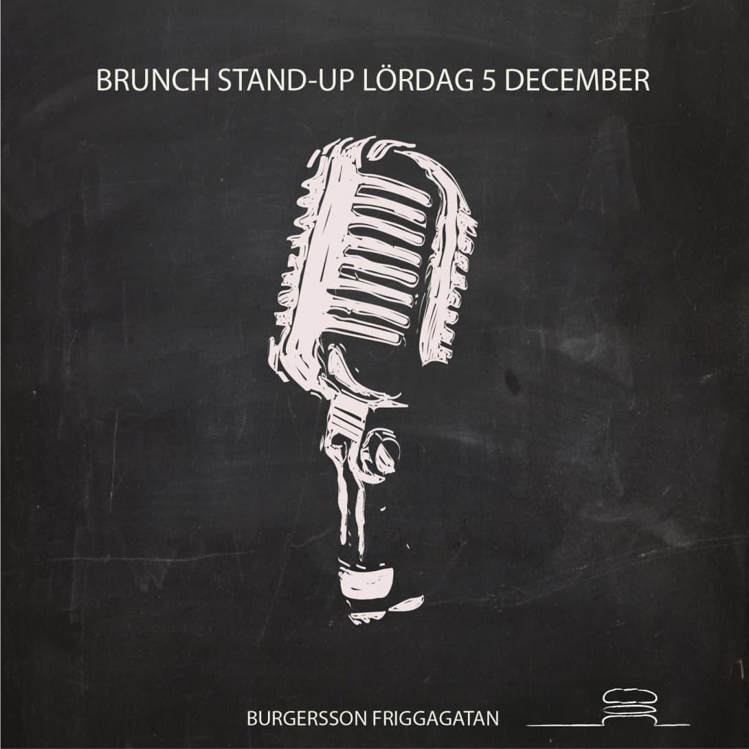 Brunch-standup på Burgersson