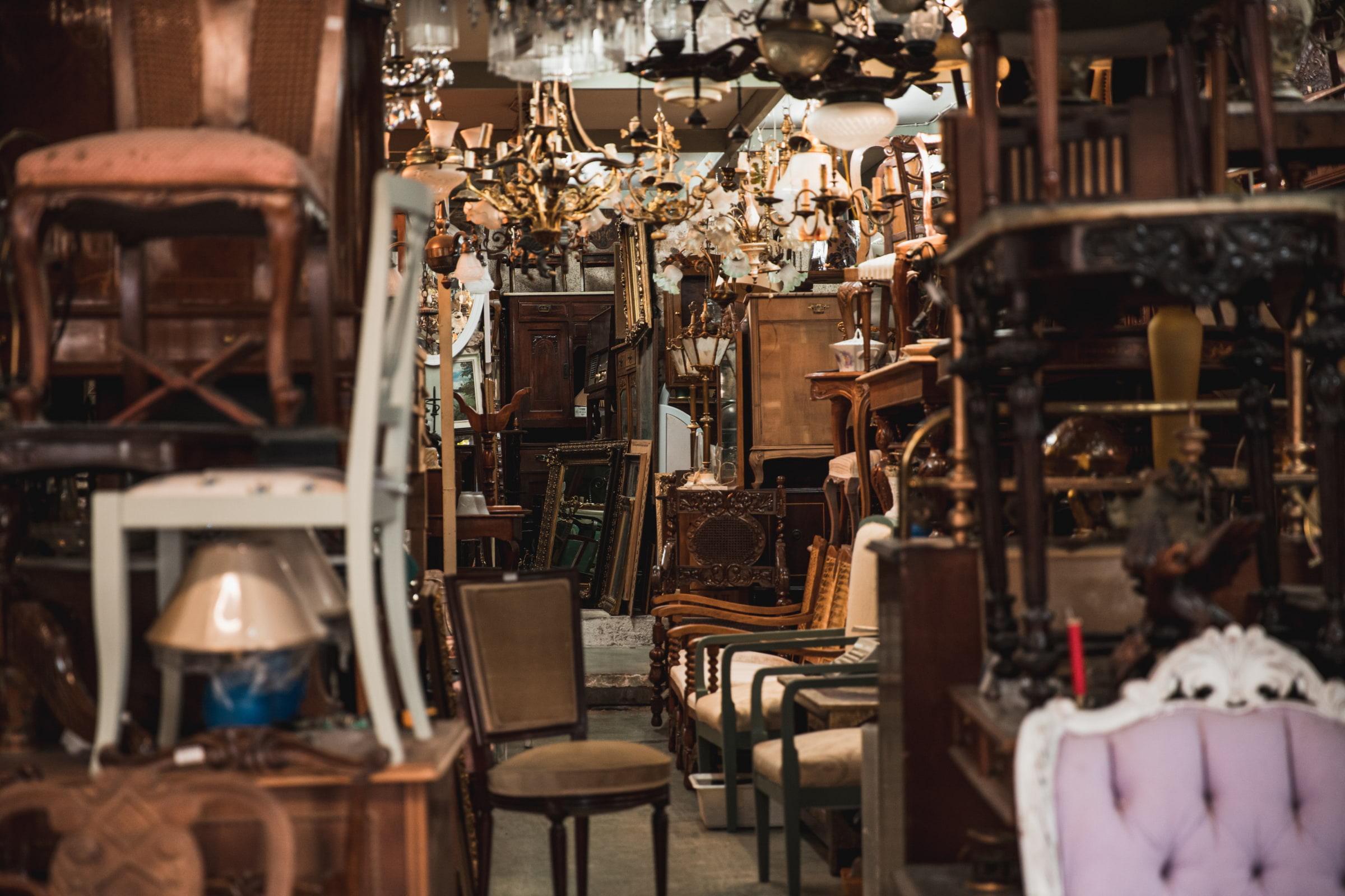 Stockholm's best antique shops