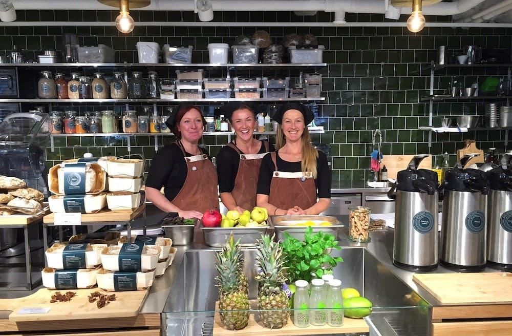 Renée Voltaire öppnar nytt veganhak