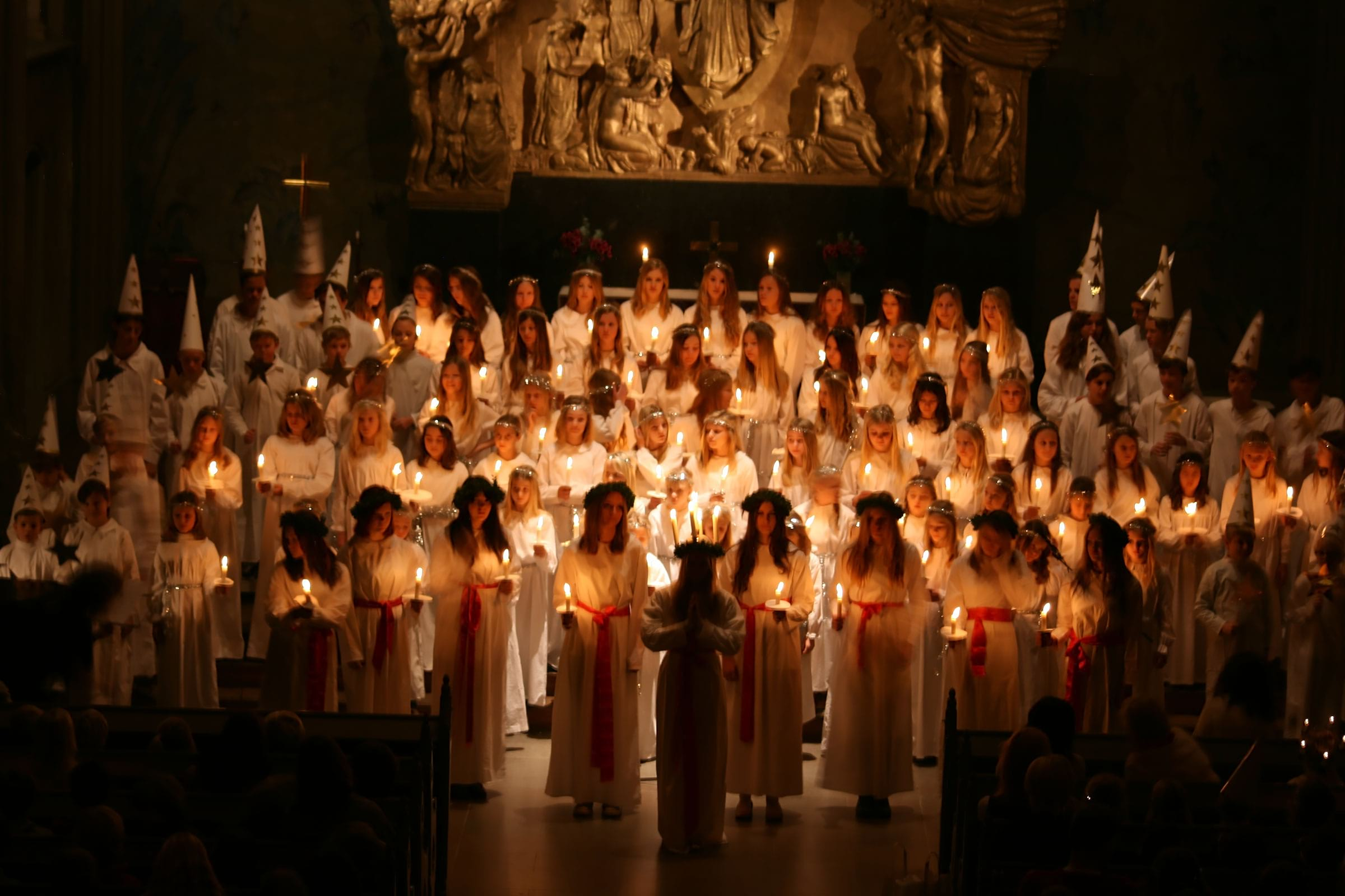 Lucia concerts in Stockholm