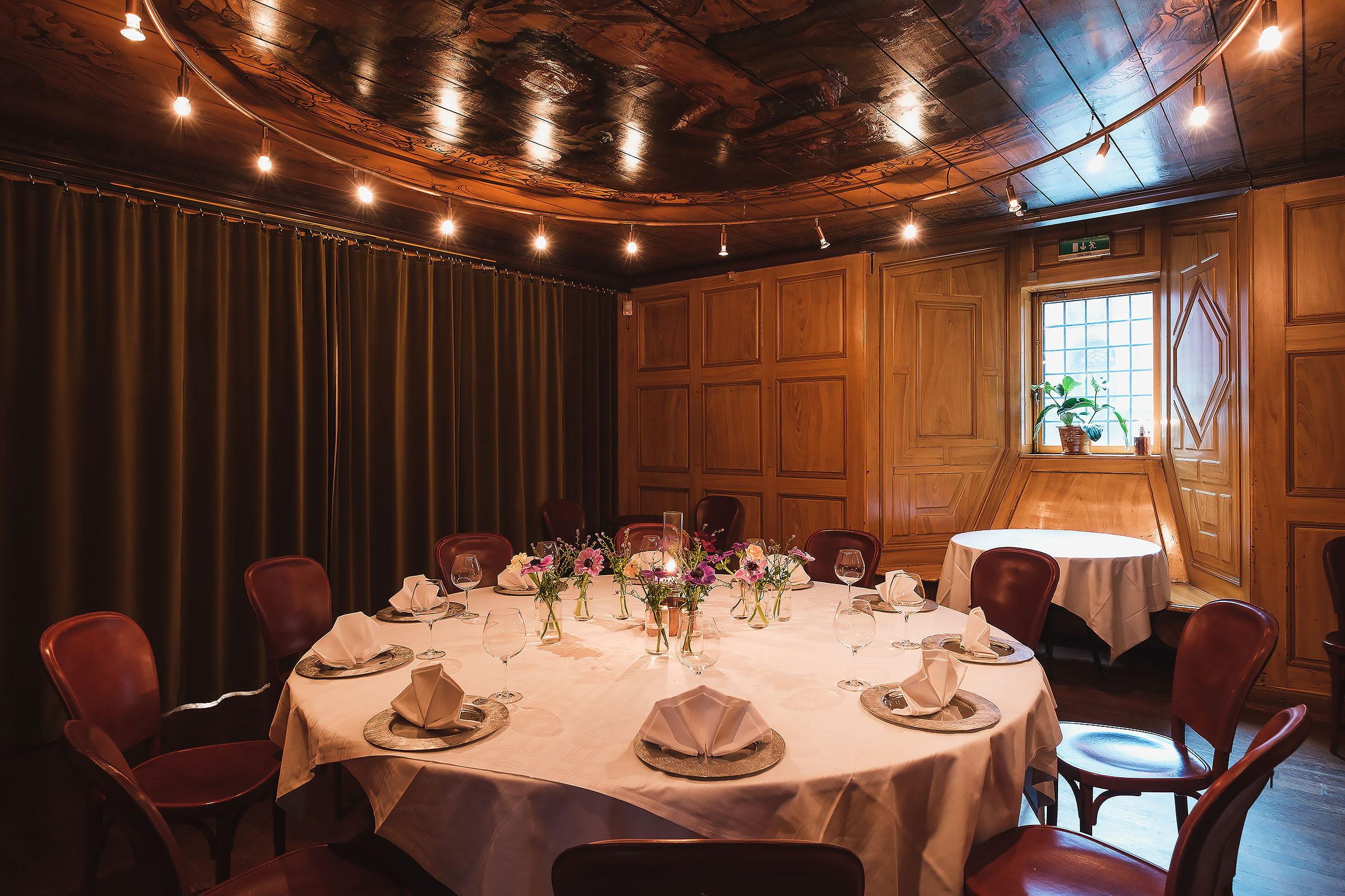 Restaurants in Stockholm with a chambre séparée