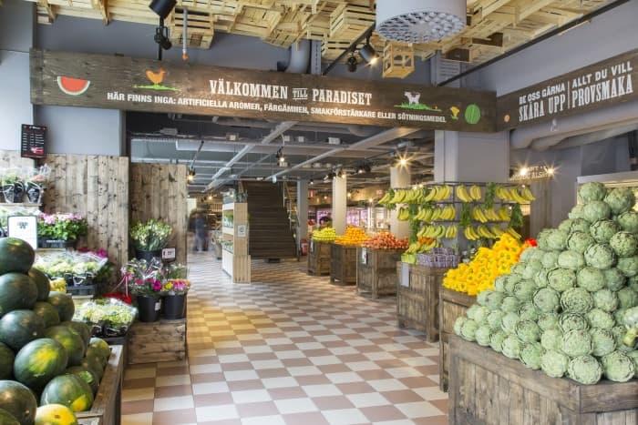 Paradiset öppnar sin andra matmarknad i Stockholm