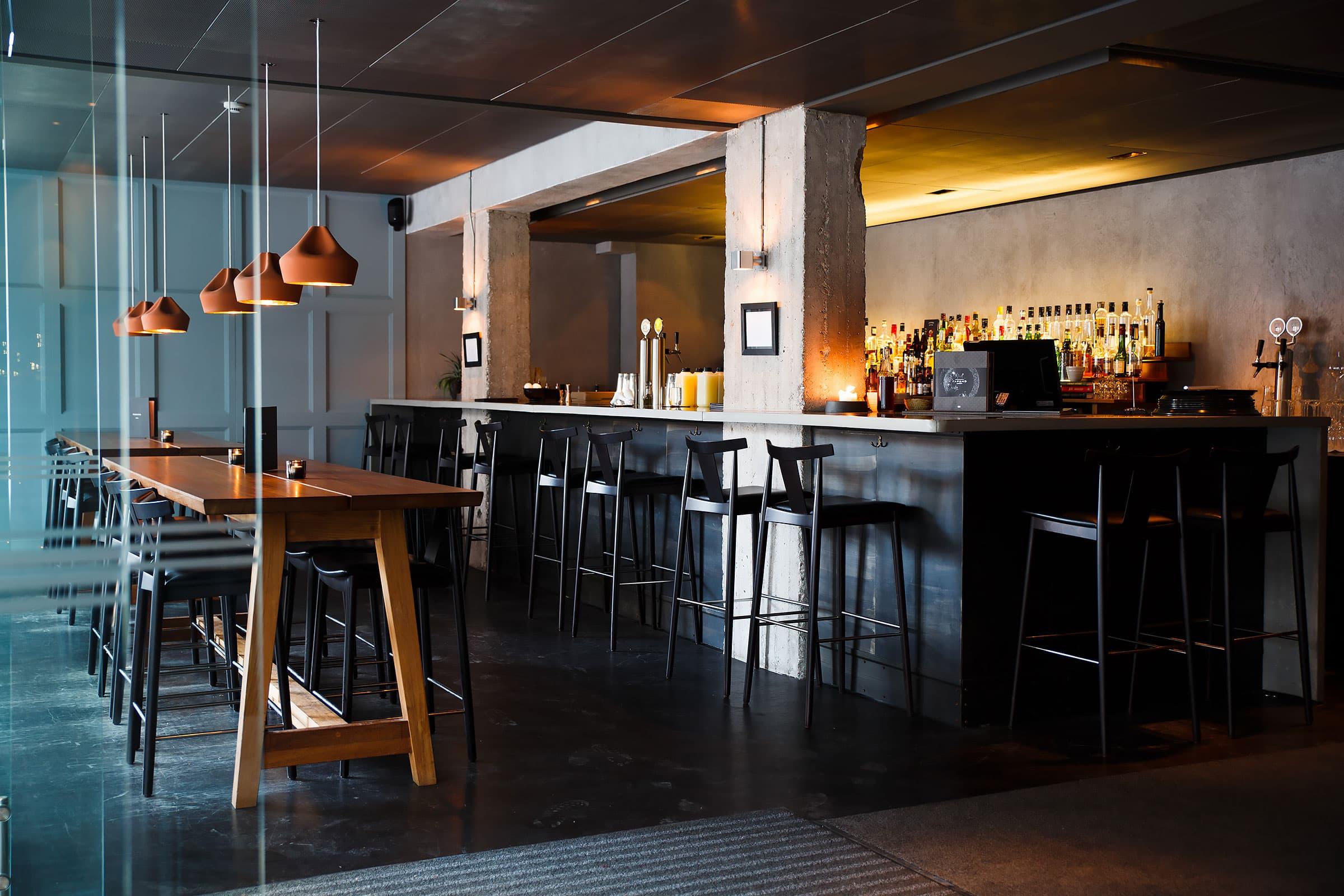 Nudel-pop-up i baren på Farang