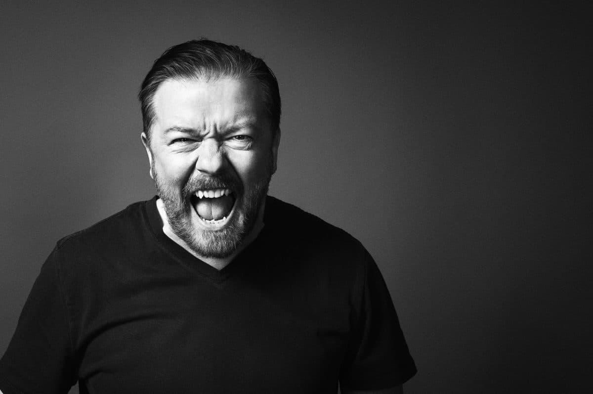 Ricky Gervais kommer till Stockholm med ny show