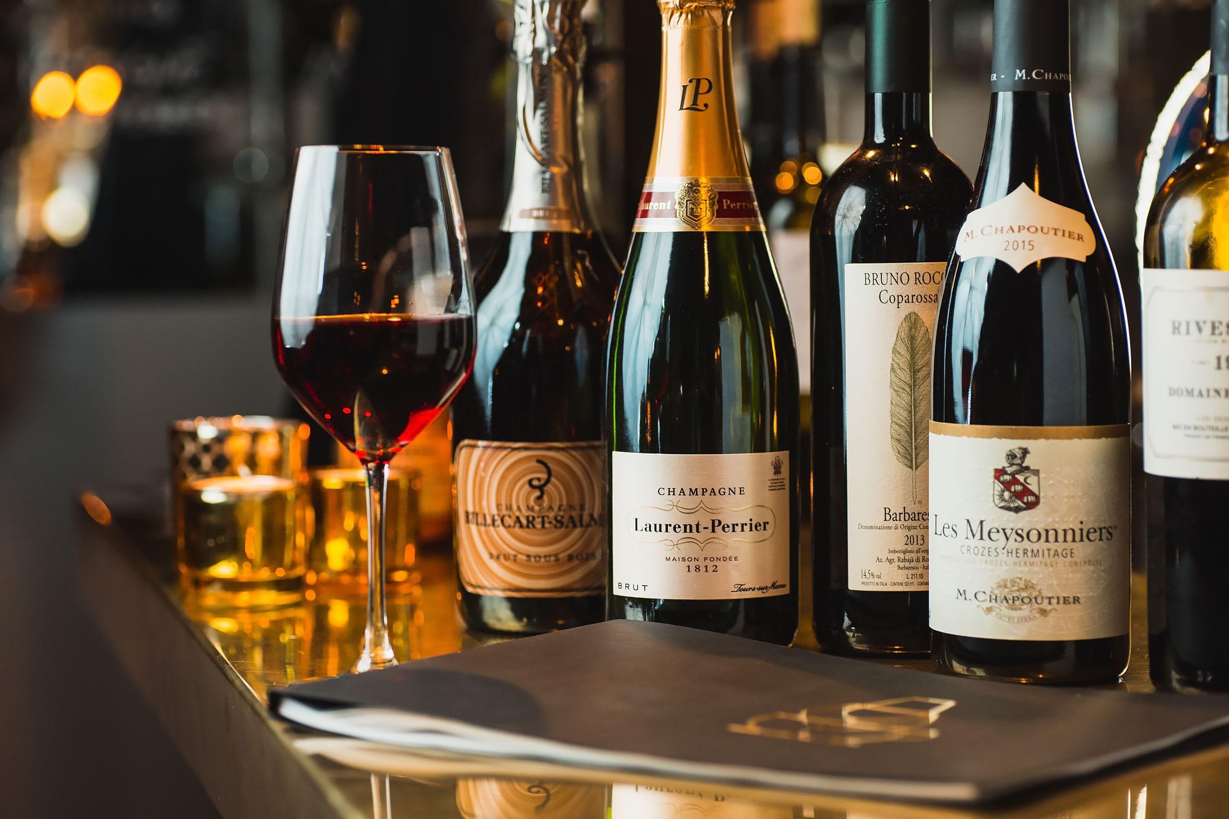 vinprovning med middag stockholm