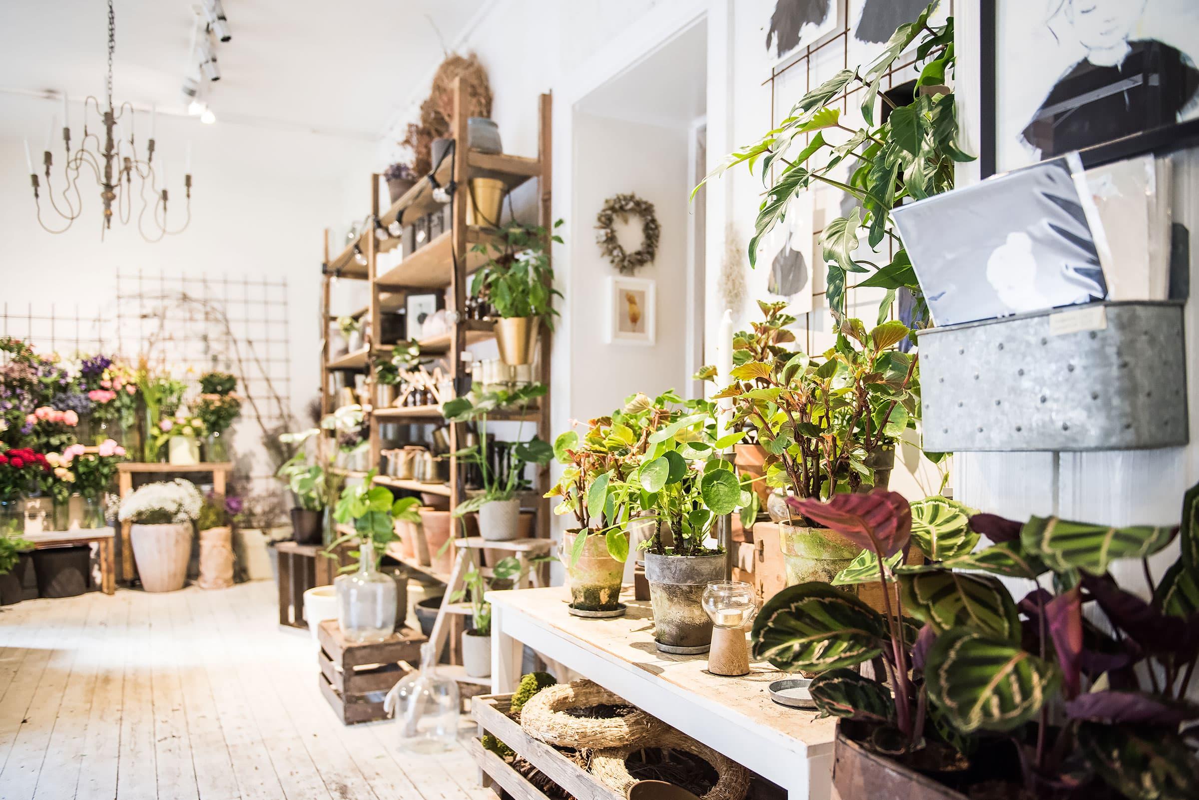 bästa blomsteraffären stockholm