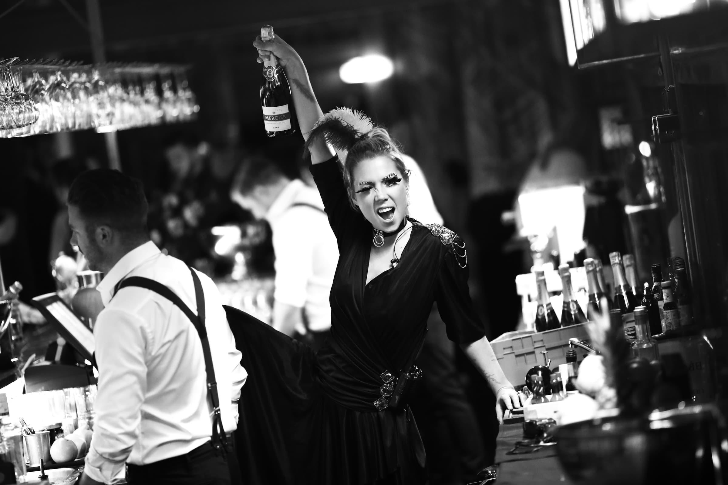 Clarion Post får ny cocktailbar med glammig festkänsla