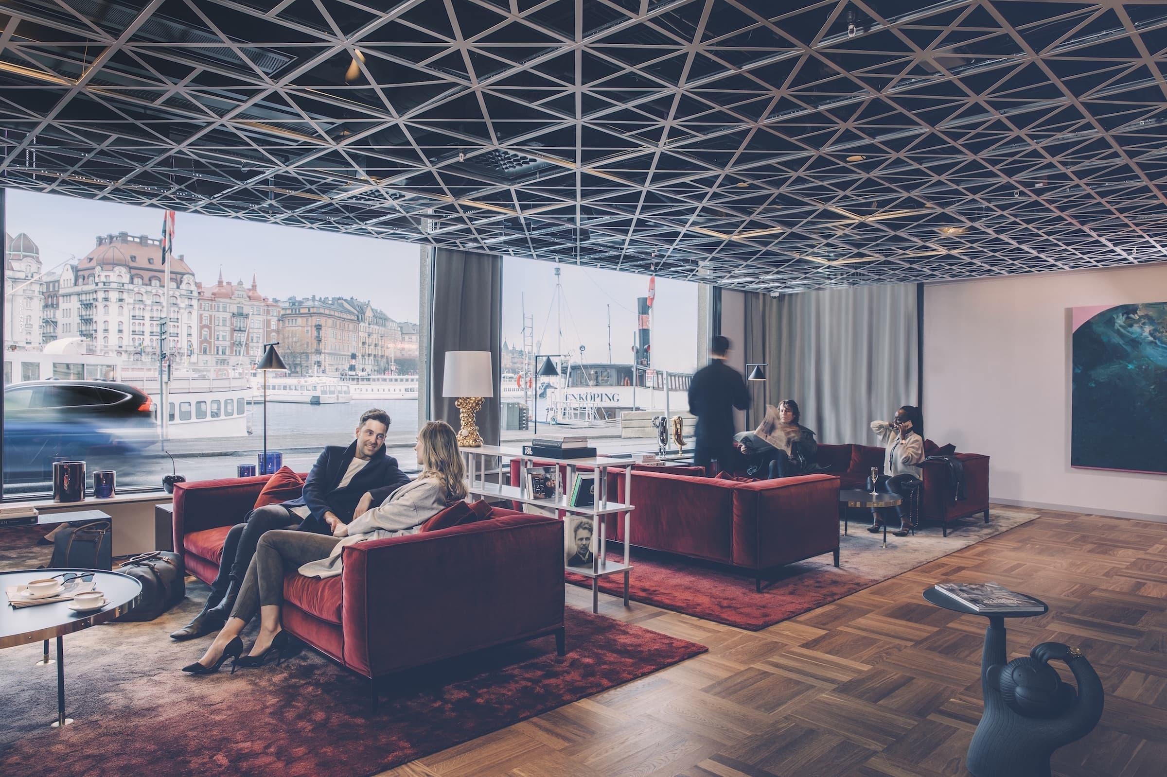 Se första bilderna inifrån nya Radisson Blu Strand Hotel vid Nybrokajen