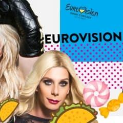 Glittrande Eurovisionparty på Södran