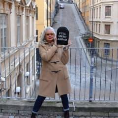 Marianne Lindberg De Geer på Färgfabriken