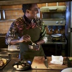 Stjärnkocken Marcus Samuelsson bjuder på pop up-middag
