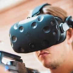 VR-studio bjuder in till den virtuella världen