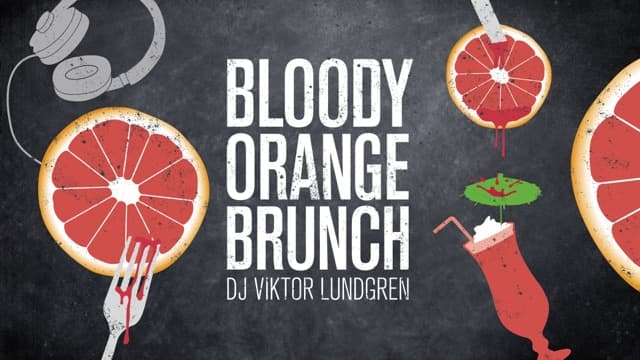 Bloody Orange Brunch på Urban Deli