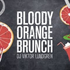 Bloody Orange Brunch på Urban Deli