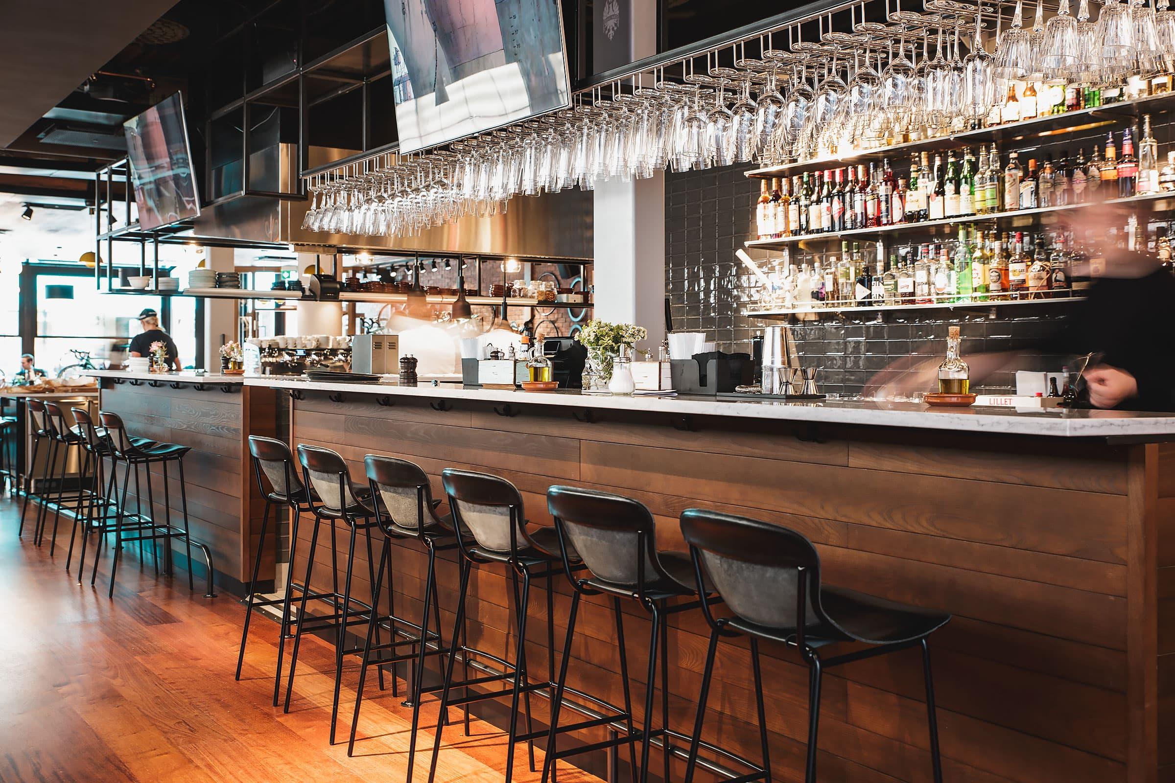 Aperitivo och sockerfria drinkar på Bianchi Café & Cycles