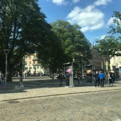 Fotoutställning på Raoul Wallenbergs torg
