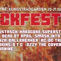 Rockfesten tillbaka i Kungsträdgården