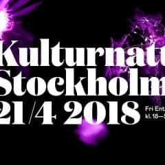 Upptäck Stockholms kulturliv med Kulturnatt Stockholm
