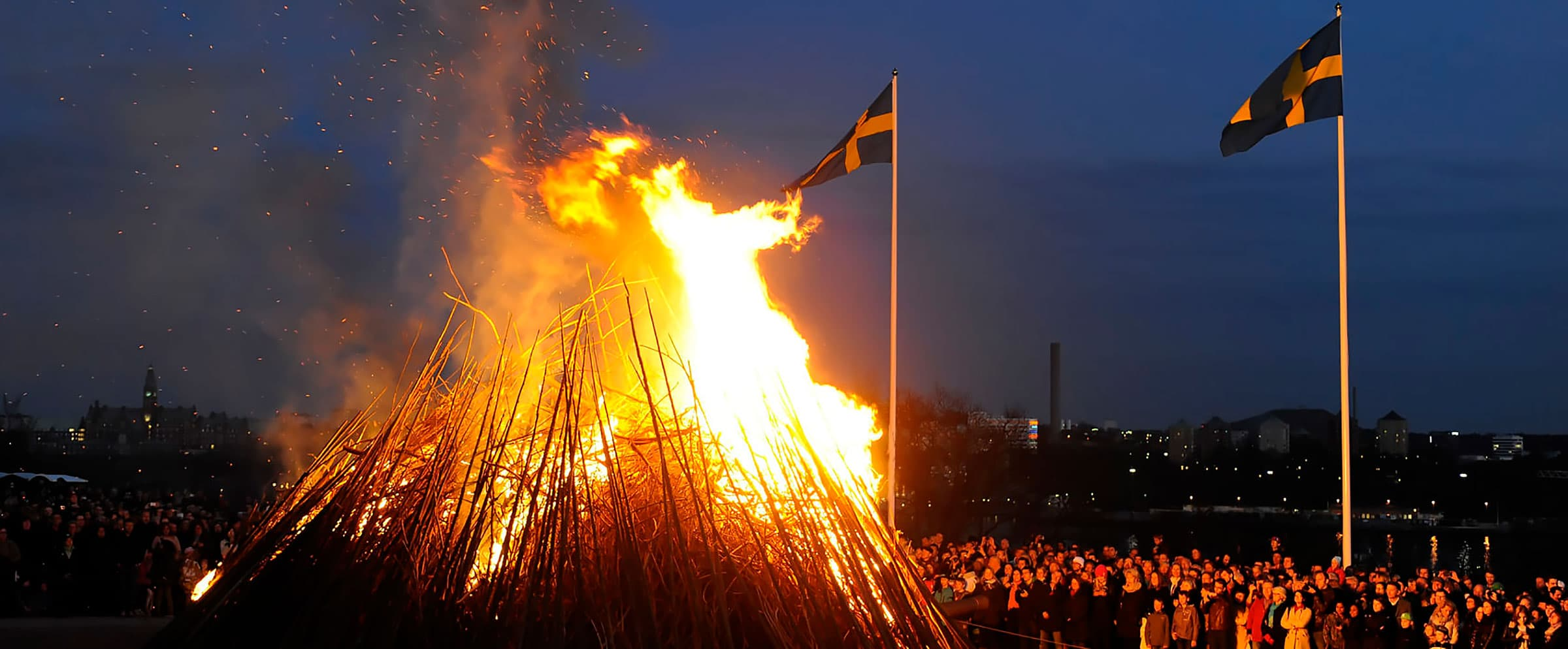 Where to celebrate Walpurgis night in Stockholm