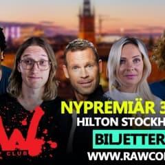 Fullspäckad humorhöst med Raw Comedy Club
