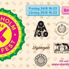 Stockholm Beer Fest 2018