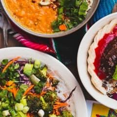 Veganska restauranger i Stockholm
