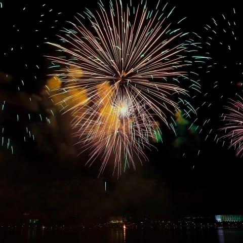 Här kan du se fyrverkerier på nyårsafton i Stockholm