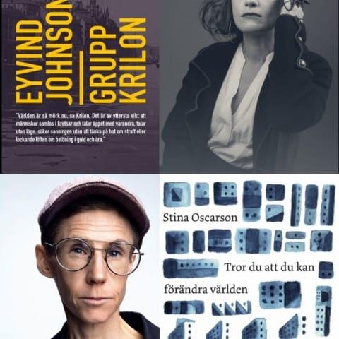 Stockholm läser Grupp Krilon och författarbesök med Stina Oscarson