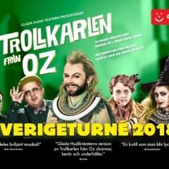 Trollkarlen från Oz med Glada Hudik-teatern