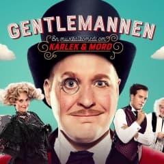 Henrik Dorsin i åtta roller i musikalkomedin Gentlemannen