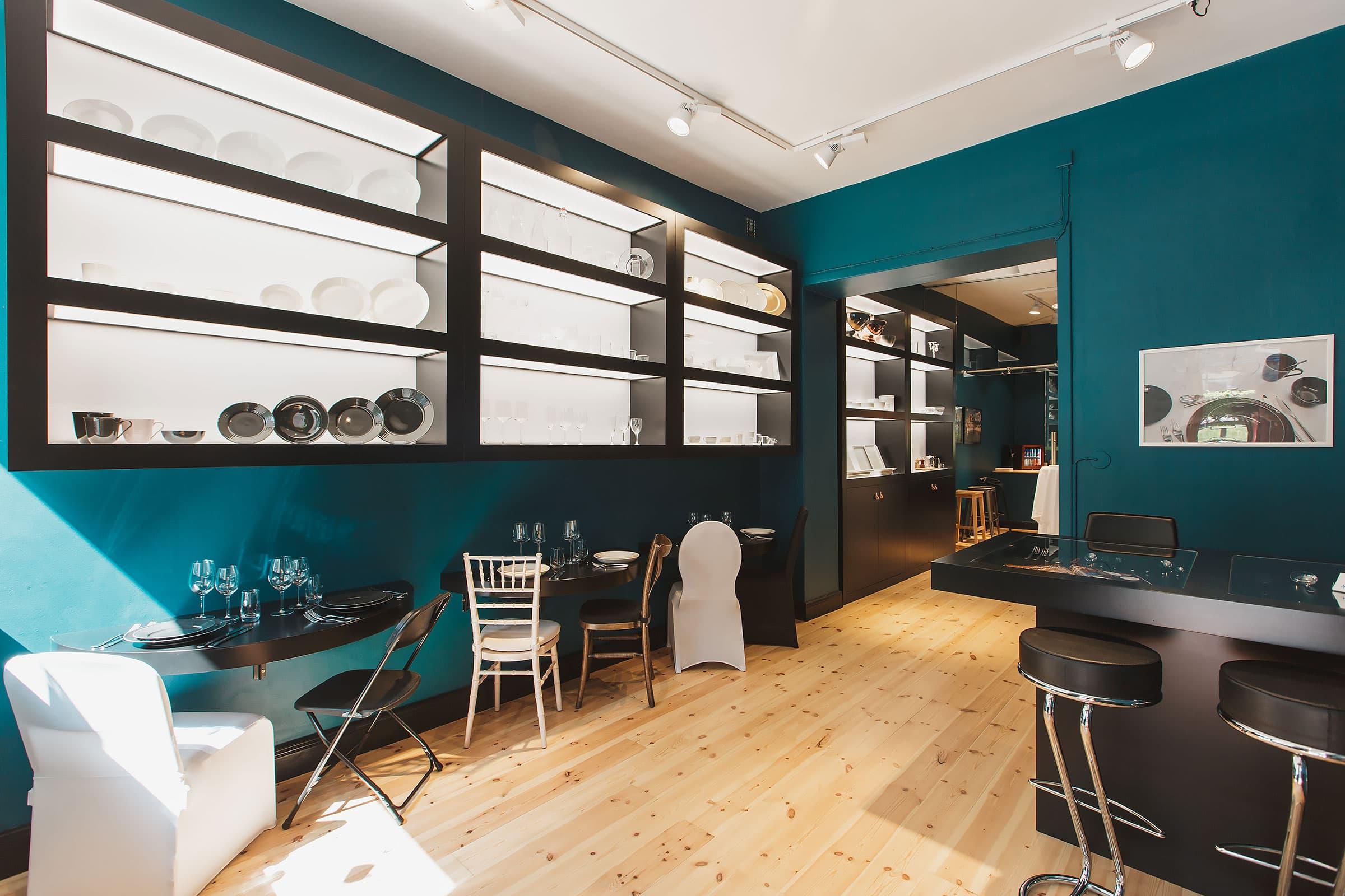 Nytt showroom på Karlavägen ska ge inspiration till festen