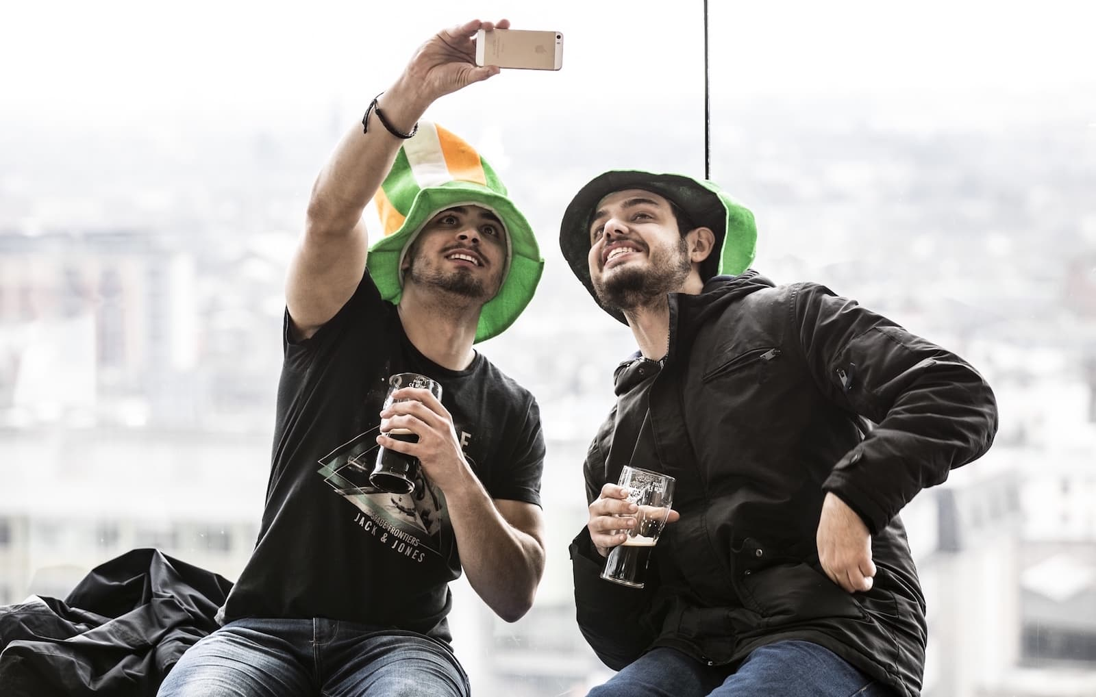 St Patrick's Day firas med parad i Stockholm