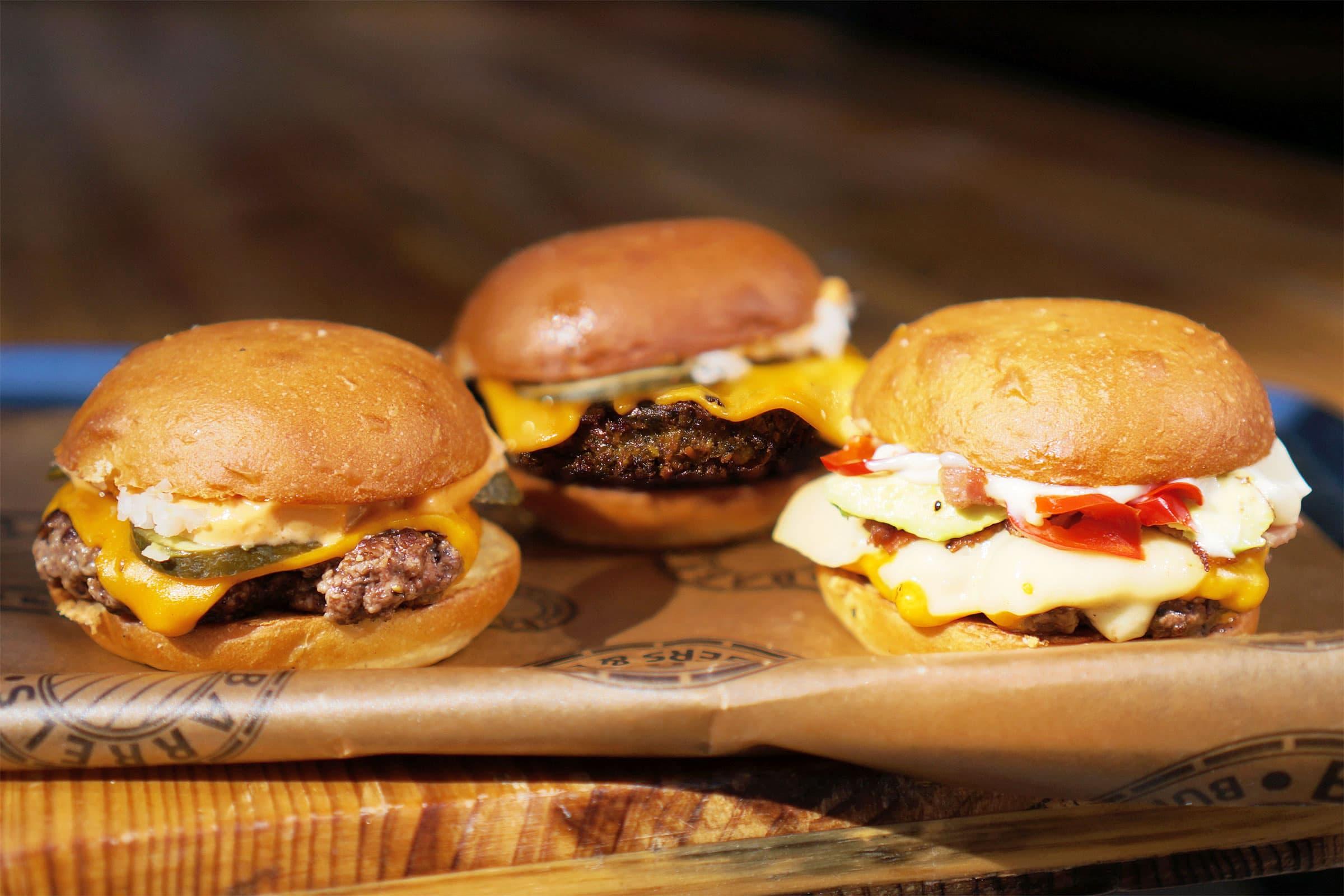 Burgarfestival bjuder in några av världens bästa hamburgerrestauranger